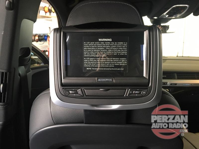 2017 audi q7 rear seat entertainment perzan auto radio. Black Bedroom Furniture Sets. Home Design Ideas