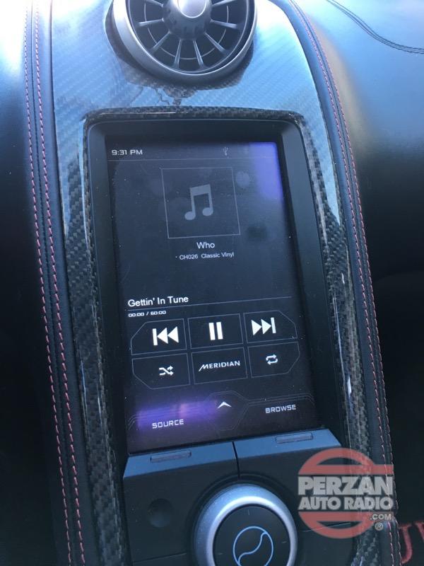 Mclaren Integrated Satellite Radio Perzan Auto Radio