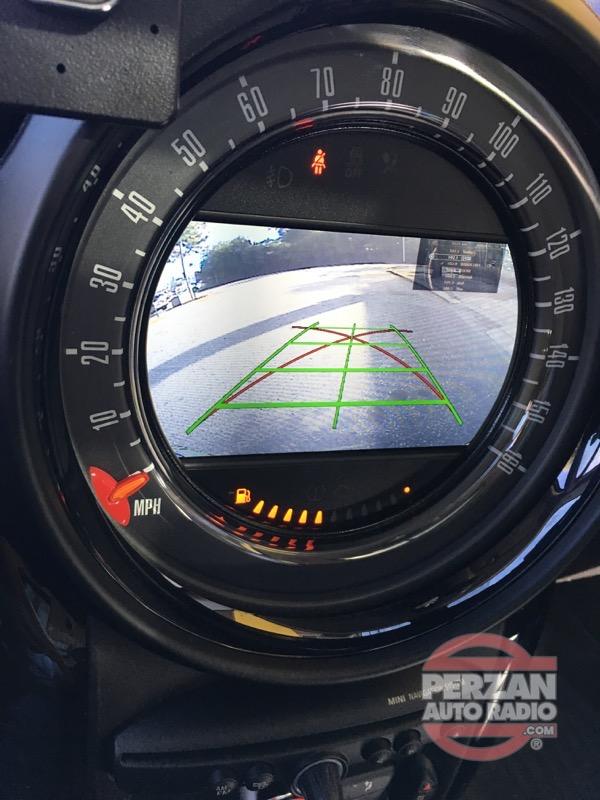 2016 Mini Countryman Backup Camera Perzan Auto Radio