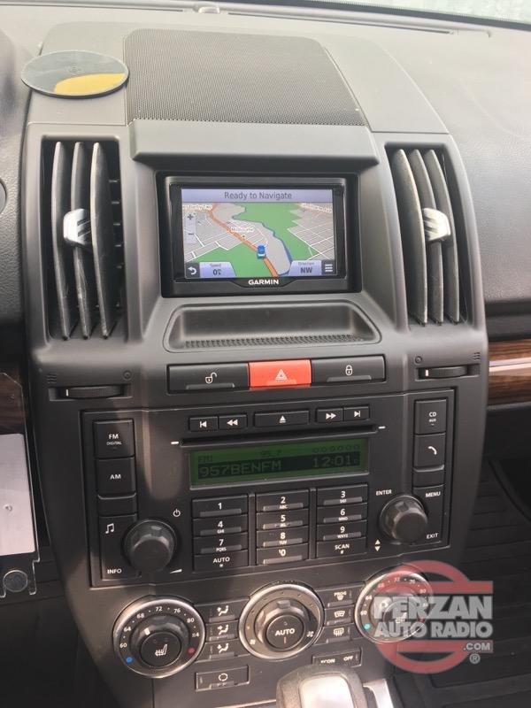 Land Rover Lr2 Navigation Perzan Auto Radio