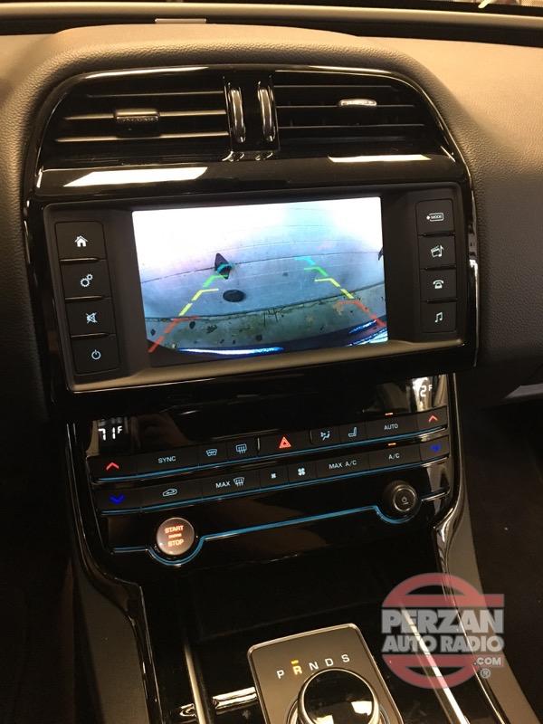 2017 Jaguar Xe Backup Camera Perzan Auto Radio